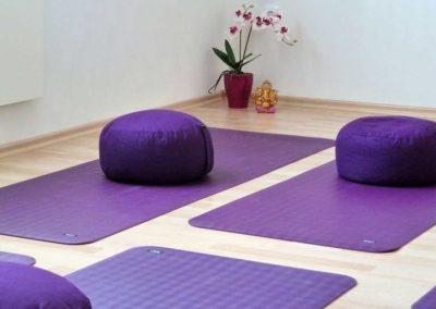 Im Yogaraum